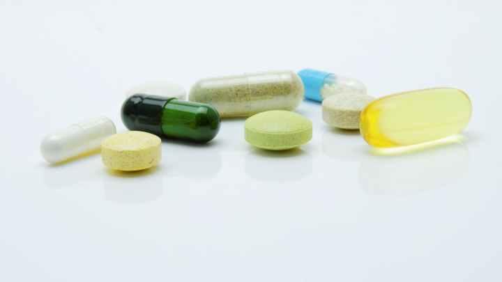 close up photography of pills