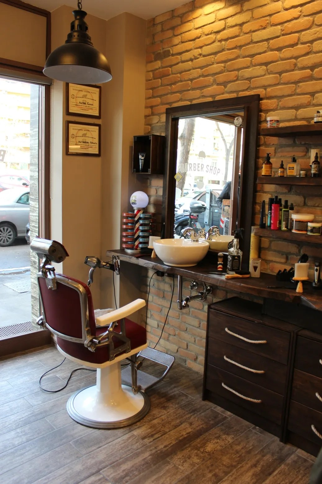 barber shop roma appia