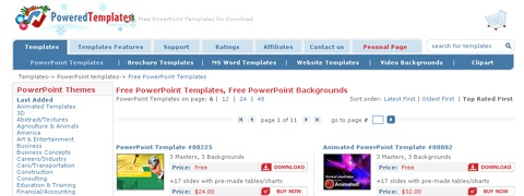 Powered Templates