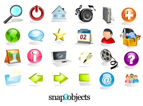 24 Free Web Stock Icons
