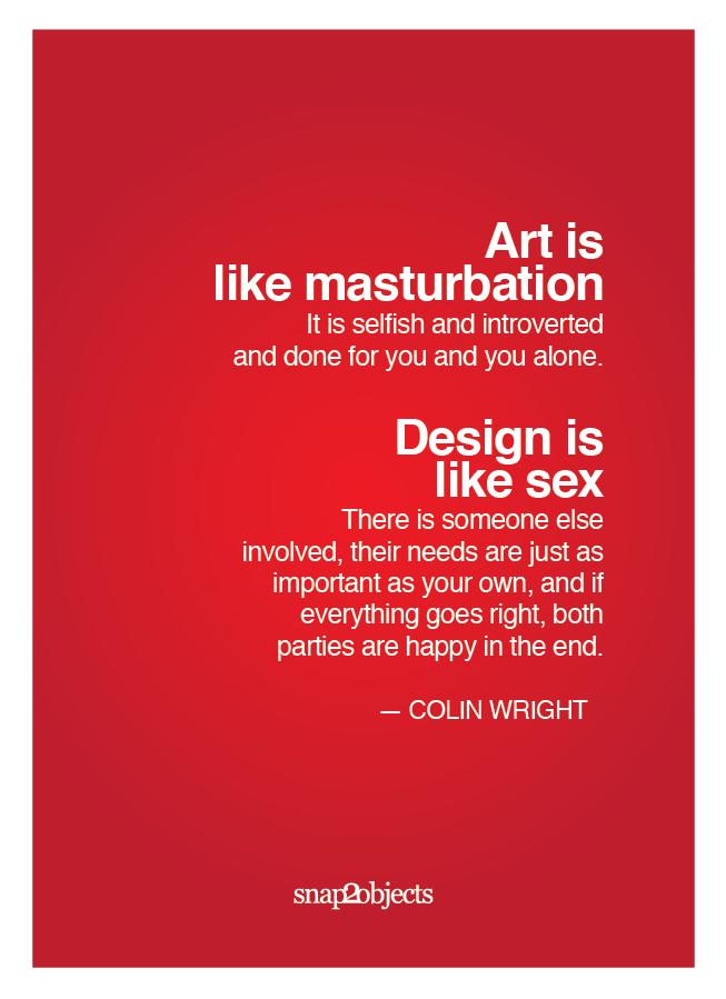 Art Is Like Masturbation 03