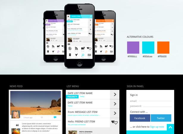Free-Mobile-UI-Kit-PSD-l