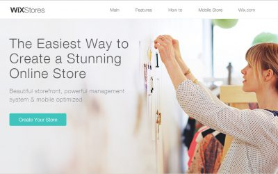 WixStores : Build a striking ecommerce site with ease  (while keeping 100% of the sales)