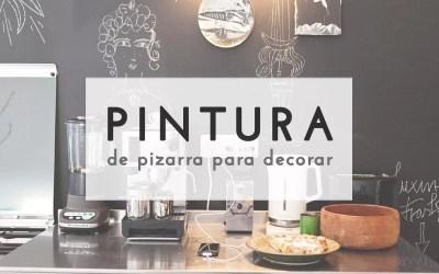 PINTURA DE PIZARRA