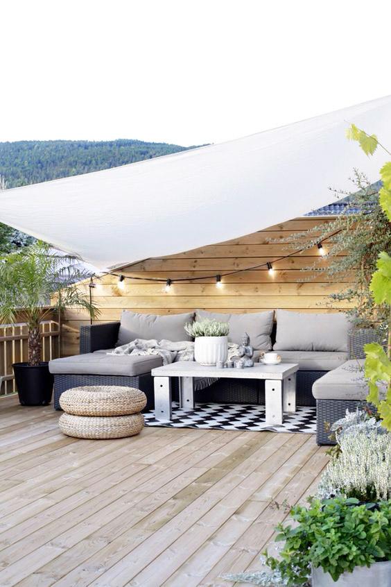 deco terraza y jardín