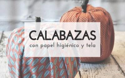 CALABAZAS CON ROLLOS DE PAPEL