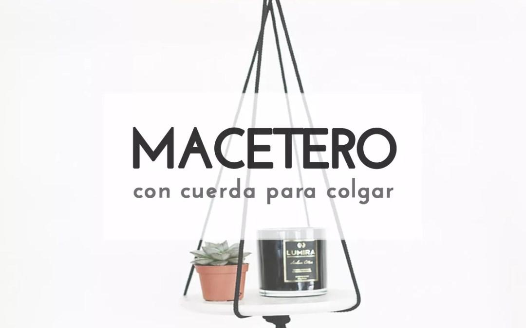 MACETERO CON CUERDAS
