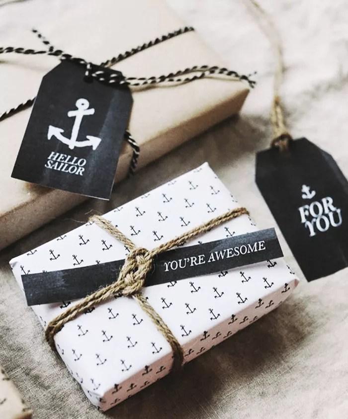 DIY envoltorios de regalo