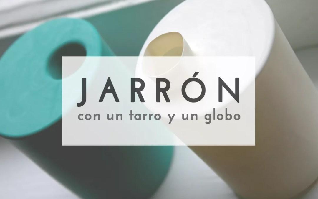 JARRÓN CON UN GLOBO
