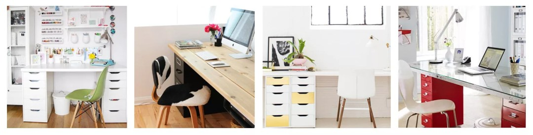 3 ideas de escritorios diy