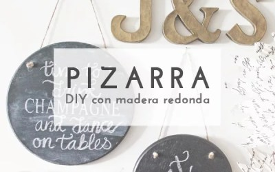 DIY PIZARRA DECORATIVA