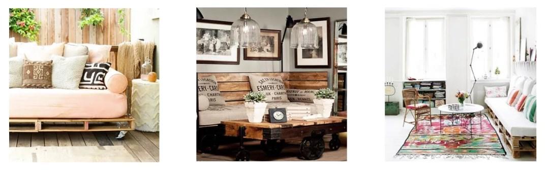 DIY sofá con palets