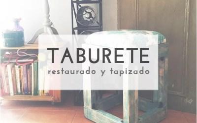 DIY RENOVANDO UN TABURETE