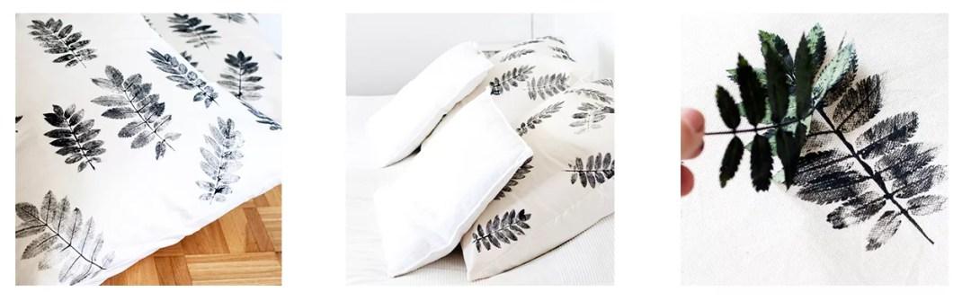 diy pintar funda de almohada