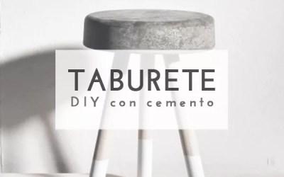 DIY TABURETE CON CEMENTO