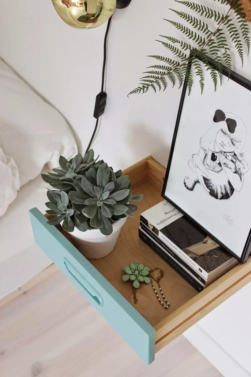 DIY mesita con cajón