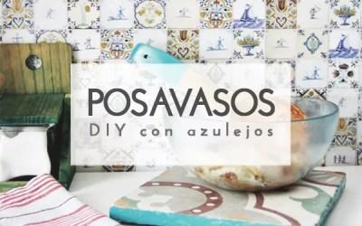DIY POSAVASOS CON AZULEJOS