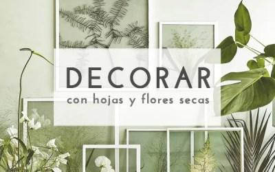 DIY MARCOS CON HOJAS SECAS