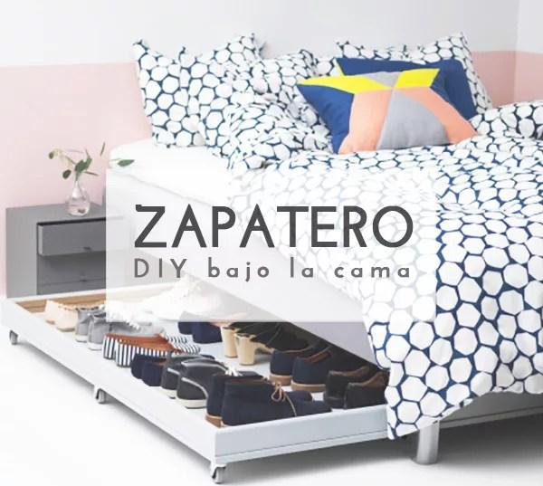 DIY ZAPATERO BAJO LA CAMA