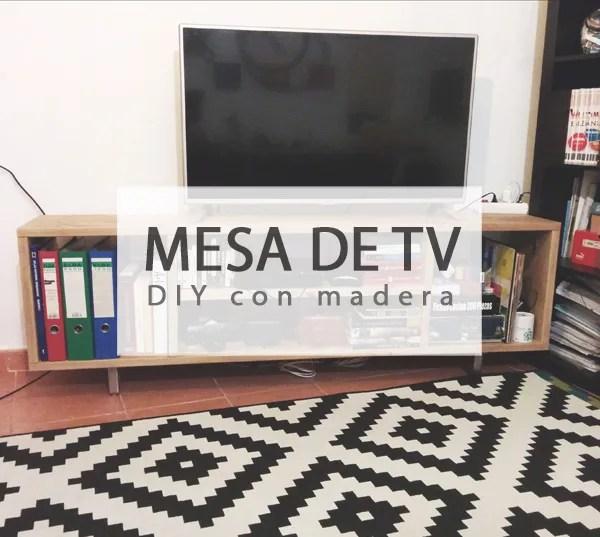 DIY MESA PARA LA TV