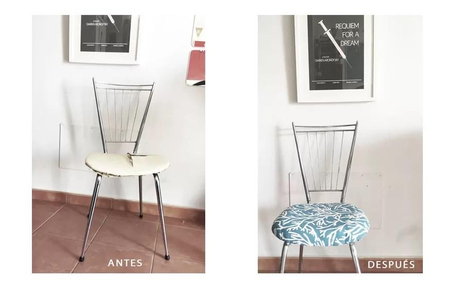 Restaurar silla de metal