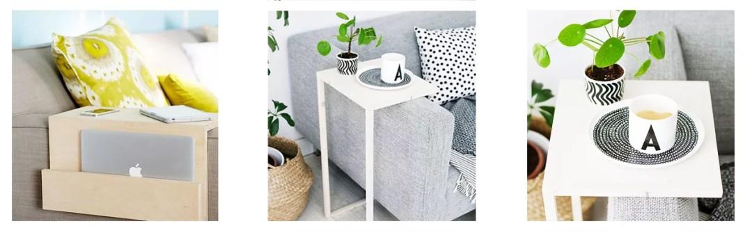 DIY bandeja para sofá