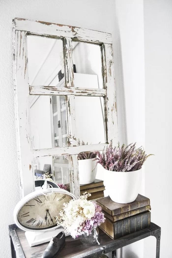DIY espejo con ventana