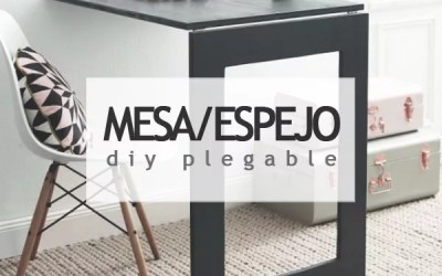 DIY MESA PLEGABLE