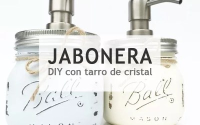 DISPENSADOR DIY DE JABÓN