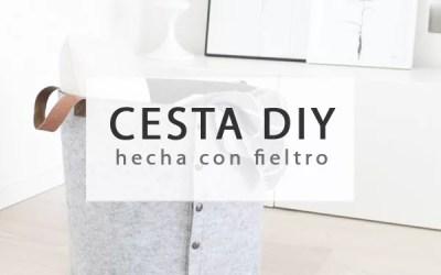 CESTAS DIY CON FIELTRO