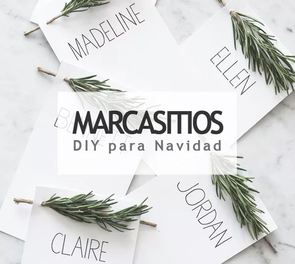 MARCASITIOS DIY NAVIDEÑOS