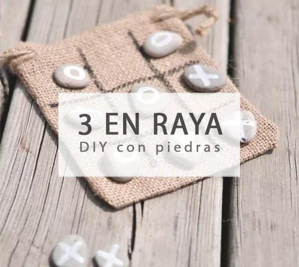 TRES EN RAYA DIY