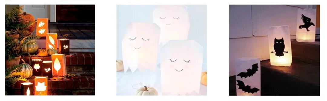 bolsas iluminadas halloween