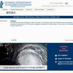 MyAccess Florida Phone Number