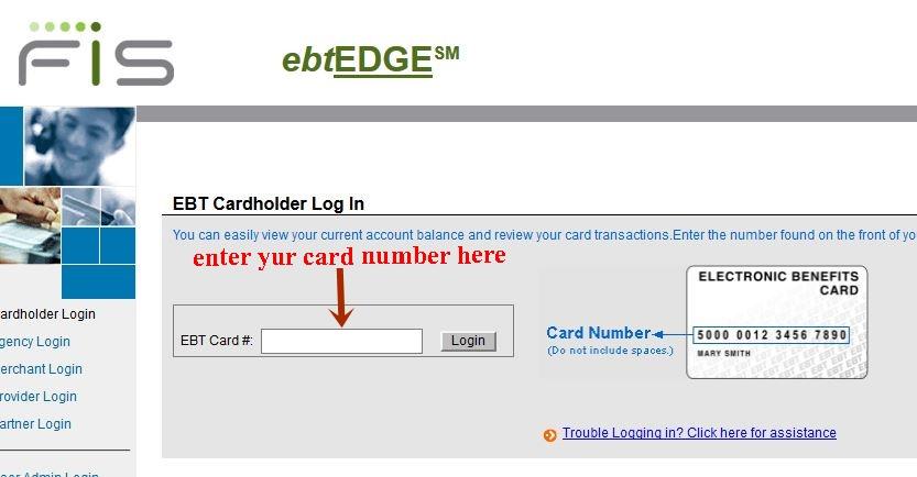 California Ebt Balance Card