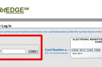 ebtEDGE Food Stamp Balance Check