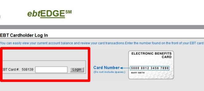 Login www.ebtEDGE.com