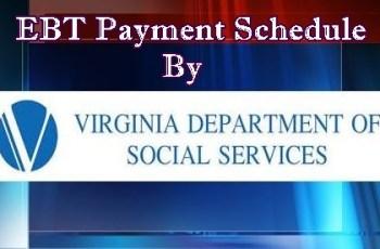 Virginia EBT Payment Schedule