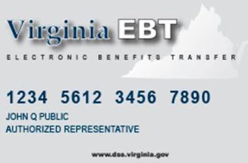 Virginia EBT Card Balance
