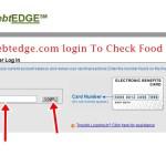 www.ebtedge.com login To Check Food Stamp Balance Online