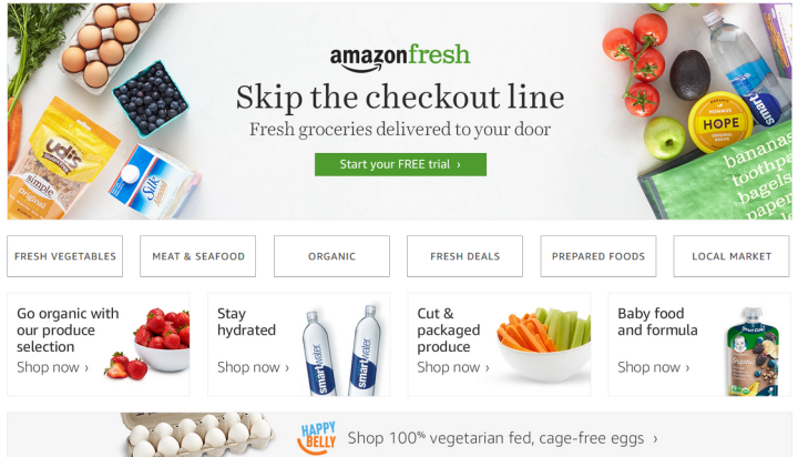 Does AmazonFresh Accept EBT