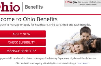 Create Benefits.ohio.gov Account