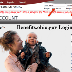 Benefits.ohio.gov Login