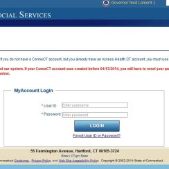 Connect CT Gov Login - ConneCT.ct.gov