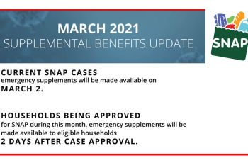 P-EBT Benefit For March 2021