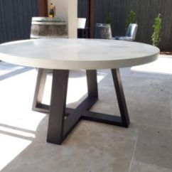 Concrete Kitchen Table Bar Stools Ikea Dining Tables Snap Outdoor