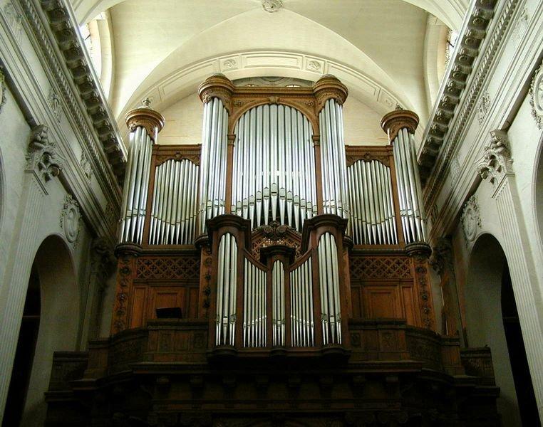 Carte professionnelle des organistes 2019