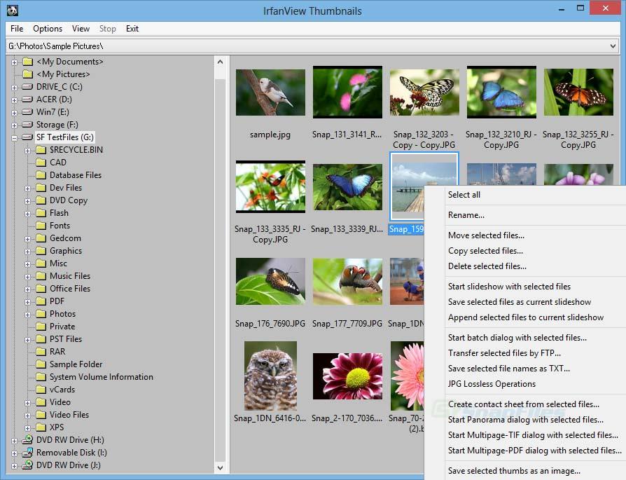 伊豆湖: IrfanView 4.38 免費流暢看圖軟體 強大圖檔預覽功能