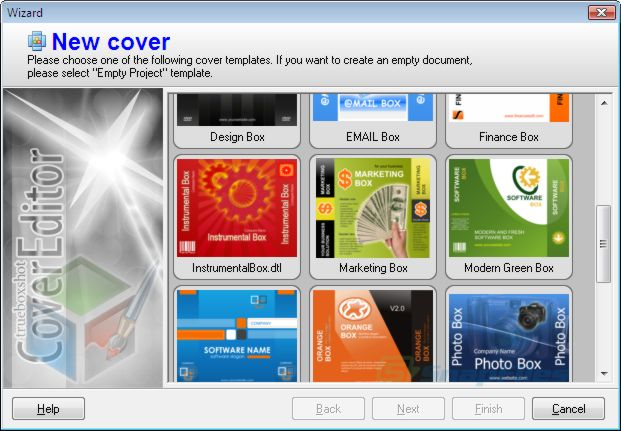 TBS Cover Editor screenshot and download at SnapFilescom