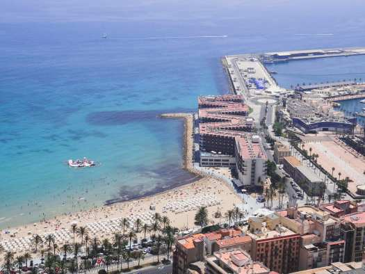 alicante harbour, spain, costa blanca, guide to 24 hours in Alicante